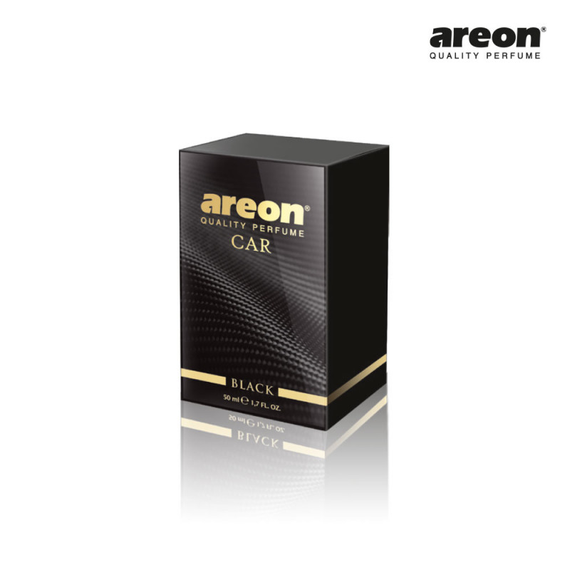 AREON CAR PERFUME 50ML BLACK PRETO