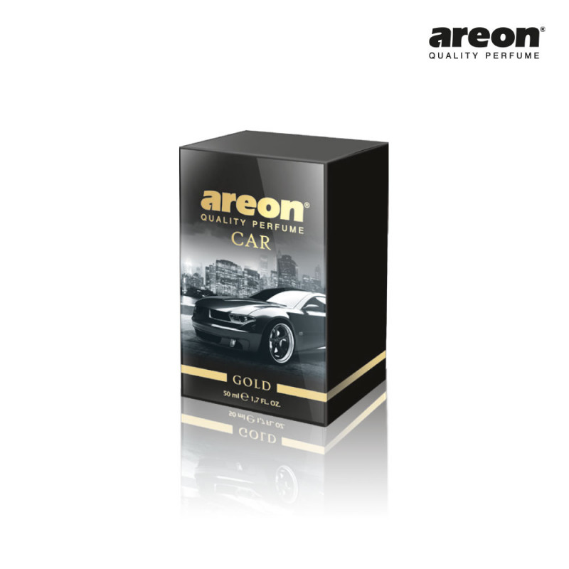 AREON CAR PERFUME 50ML GOLD OURO