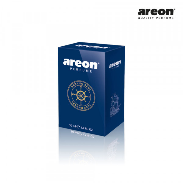 AREON CAR PERFUME 50ML VERANO AZUL