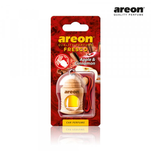 AREON FRESCO APPLE AND CINNAMON MACA E CANELA