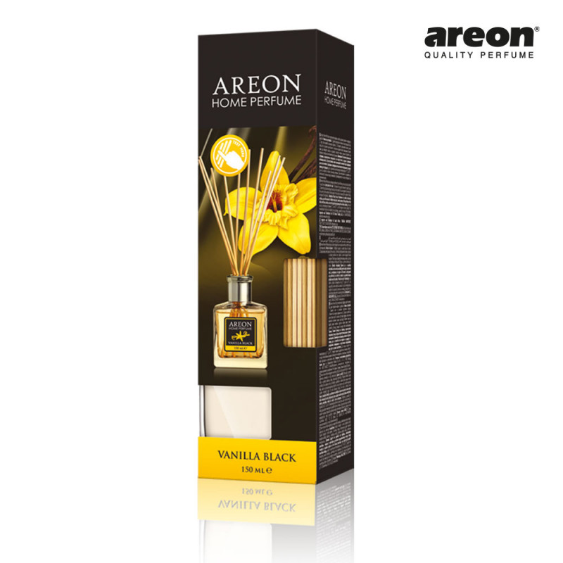 AREON HOME PERFUME STICKS 150ML VANILLA BLACK